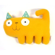 Items similar to Kitten- handmade plush animal on Etsy