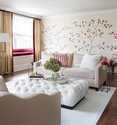 Ottoman Love-kim.scodro: Kim Scodro Interiors - Urban home houses family of five Chicago's Gold Coast.