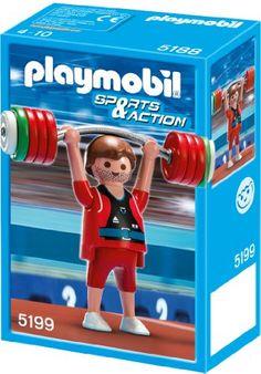 PLAYMOBIL 5199 - Gewichtheber PLAYMOBIL…