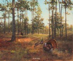 Jim Killen Original Paintings Sporting Dog, Waterfowl, Upland Game and Wildlife Art 2