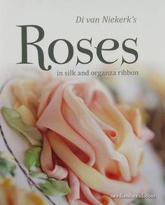 Roses in Silk and Organza Ribbon