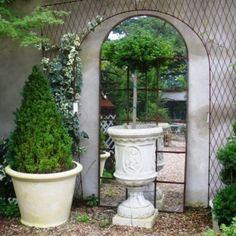outdoor mirrors | Home > Garden/Architectural > Other > French Style Garden Mirror
