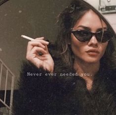 Quotes inspirational life feelings good vibes new Ideas Bitch Quotes, Mood Quotes, Bye Quotes, Tumblr Quotes, Cigarette Quotes Tumblr, Foto Pose, Quote Aesthetic, Bad Girl Aesthetic, Photoshoot