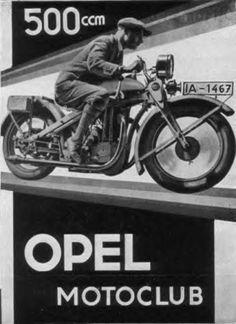 Opel Raketen Motorrad