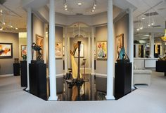 The Art Shop, Inc. - Fine Art Gallery & Custom Framing in Greensboro, NC Gallery Frames, Park Art, Store Interiors, Logo Color, Healthy Snacks For Kids, Fine Art Gallery, Luxury Life, Custom Framing, Shop Art