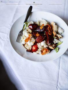 chorriso with mozzarella, ruccola and ciabatta | Flickr - Photo Sharing!