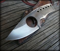 Custom EDC/ neck knife by HKnives on Etsy