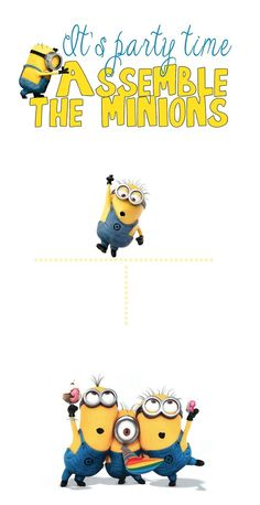 cool How to Create Minion Birthday Party Invitations Designs Ideas Check more at http://www.egreeting-ecards.com/2016/10/19/how-to-create-minion-birthday-party-invitations-designs-ideas/