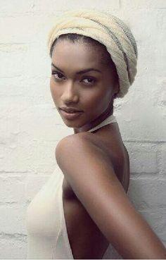 On a headscarf fad lately.....