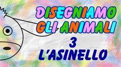 Disegniamo L'Asinello - Tutorial Di Disegno DIY - La Televisione Dei Bam...