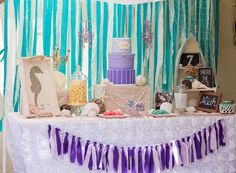 Aliah's Under the Sea Party  | CatchMyParty.com