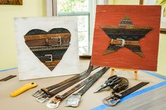 Have old belts? Decorate your walls with them! Tune in to Home & Family weekdays at 10a/9c on Hallmark Channel!