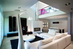 sofa blanco esquinero