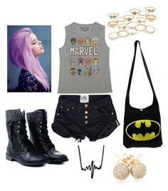 """""""Dark Summer"""" by justoneme ❤ liked on Polyvore"""