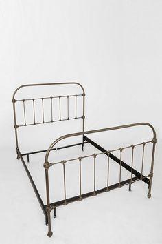 Callin Iron Bed Habitat Home Bedroom Brass Bed Iron