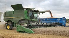 Bucks grower sees Budweiser barley fit his arable operation - Farmers Weekly Cost Of Production, Wild Oats, Sustainable Farming, Stella Artois, Heavy Machinery, Weed Control, Organic Matter, Plant Growth, South Wales