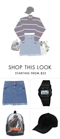 """🌃🍜💤"" by sun-kisted ❤ liked on Polyvore featuring Casio"
