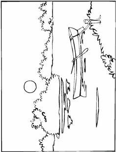 cactus, desert, illustrated panels, mesa, southwest