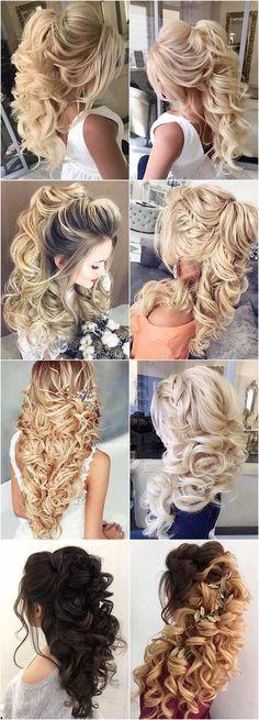 Featured Hairstyle: Elstile; www.elstile.com; Wedding hairstyle idea. #weddinghairstyles #weddingmakeup