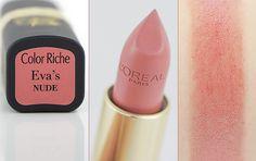 L'Oréal Collection Exclusive - Eva's Nude #blog #beauté #blogbeauté #beauty #beautyblogger #bblogger #maquillage #makeup #lèvres #lips #nude #nudelips #pinklips #neutre #naturel #pêche #rose #colorriche #exclusive #privée #collectionexclusive #collectionprivée #loréal #loréalparis #evalongoria #evasnude #revue #avis #swatch http://mamzelleboom.com/2015/04/29/rouges-a-levres-loreal-color-riche-collection-privee-exclusive-nude-par-eva-longoria-et-julianne-moore/