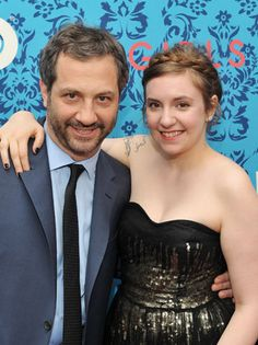 "Judd Apatow shares truths and lies about Lena Dunham: ""HBO's Hot Duo"" by The @Hollywood Reporter"