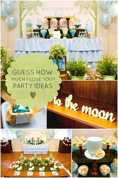 Guess How Much I Love You? Gorgeous Boys First Birthday Party Idea