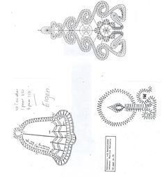 Foto: Christmas Arts And Crafts, Christmas Projects, Christmas Themes, Embroidery Designs, Bobbin Lace Patterns, Christmas Crochet Patterns, Lacemaking, Lace Heart, Theme Noel
