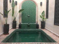 Riad Morocco pool