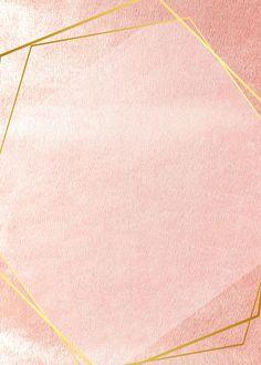 Golden frame on a pink concrete wall Rose Gold Wallpaper, Framed Wallpaper, Pastel Wallpaper, Leaves Wallpaper, Instagram Background, Pink Cards, Concrete Wall, Textured Background, Pink Glitter Background