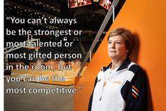 Pat Summit Inspirational Coach Alzheimer's Awareness