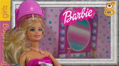 Barbie Sesión de Peluquería en el Salón de Belleza - Barbie juguetes en español