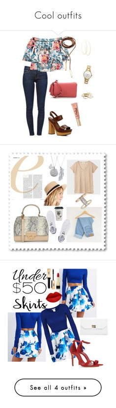 Cool outfits by ferlizarragarocha on Polyvore featuring polyvore, fashion, style, Frame Denim, Elizabeth and James, ALDO, Tory Burch, Child Of Wild, Kate Spade, Too Faced Cosmetics, Lana, Kendra Scott, clothing, Levi's, New Look, Stone Paris, Disney, Sole Society, Eloquii, adidas Originals, Natural Life, Charlotte Russe, LE3NO, Schutz, Boohoo, Dolce&Gabbana, under50, floralskirt, skirtunder50, T By Alexander Wang, Girls On Film, Nine West, NARS Cosmetics, Diptyque and Waechtersbach