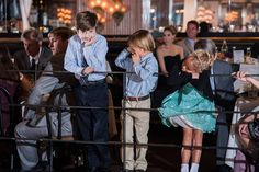 I adore watching the kids a wedding. You never quite know what they will be up to.