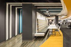 #Interiordesign for the #ActiveNetwork headquarters designed by #WareMalcomb.