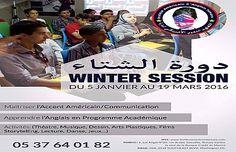 المعهد الأمريكي تمارة يفتتح باب التسجيل في  دورة الشتاء الخاصة بدعم للغة الإنكليزية