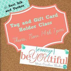 Nov 14th card class @ Best Bib and Tucker- Register at http://www.http://shopbestbibandtucker.com/shop-bbt/events/