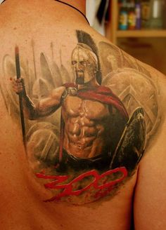 warrior tattoo - 30 Fighting Warrior Tattoos  <3 <3