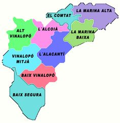 mapa comunidad valenciana - Google Search