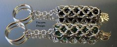 Chain Maille Key Rings
