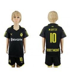 Dortmund Mario Gotze 10 Bortaställ Barn 17-18 Kortärmad Mario, Polo Shirt, Polo Ralph Lauren, Sports, Mens Tops, Fashion, Borussia Dortmund, Hs Sports, Moda