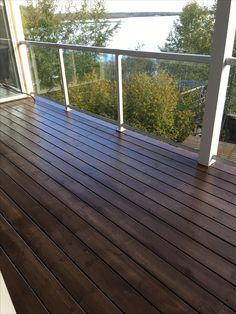 Deck Stain Paint I Used Behr Solid Color Wood Stain Padre Brown Photo By R Brazzell Diy