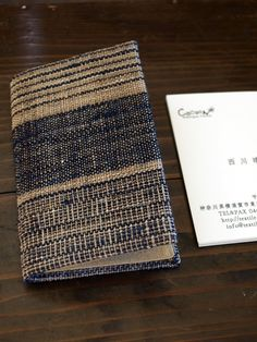 Handwoven Fabric Card Holder  http://www.iichi.com/listing/item/78850