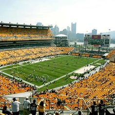 Steelers Heinz Field  http://www.steelers.com/tickets-and-stadium/heinz-field-stadium-info.html