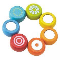 Haba Rainbow Clutching Baby Toy