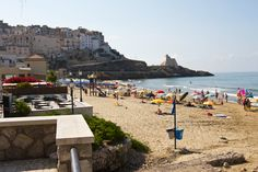 The beach at Gaeta, Italy