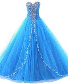 cinderella ball gown prom dresses | ... Sweetheart Long Dresses Formal Prom Dresses Ball Gown from Amazon