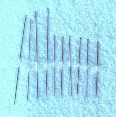 Tools of the Trade: Various Types of Needles for Cross Stitch: Beading Needles