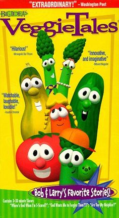 Veggietales Bob & Larry's Favorite Stories