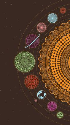 art wallpaper 40 Mandala Vorlagen - Mandala z - art Psychedelic Art, Phone Backgrounds, Wallpaper Backgrounds, Trippy Iphone Wallpaper, Planets Wallpaper, Wallpaper Space, Wallpaper Lockscreen, Trendy Wallpaper, Vintage Wallpaper Iphone