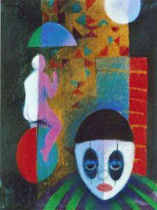 Roberto Chichorro. Sonho circense com lágrimas. 2006. African Culture, African Art, Gustav Klimt, West Africa, My Arts, Drawings, Illustration, Inspiration, Modernism